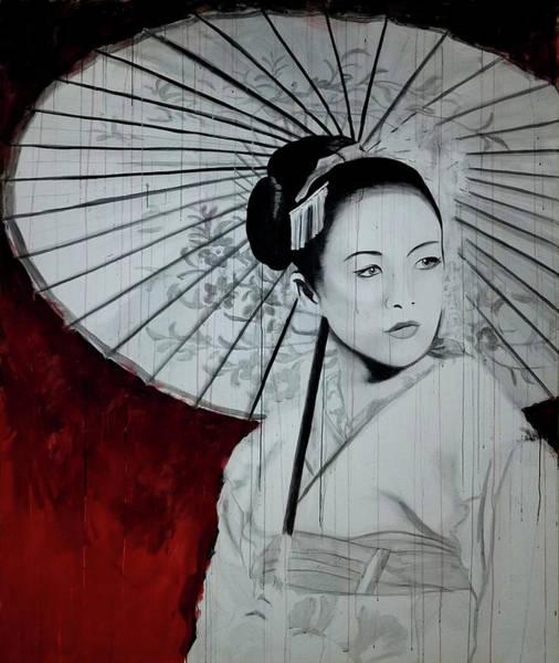 Painting - Geisha by Scott Robinson