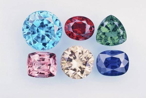 Photograph - Gemstones by Joel E. Arem