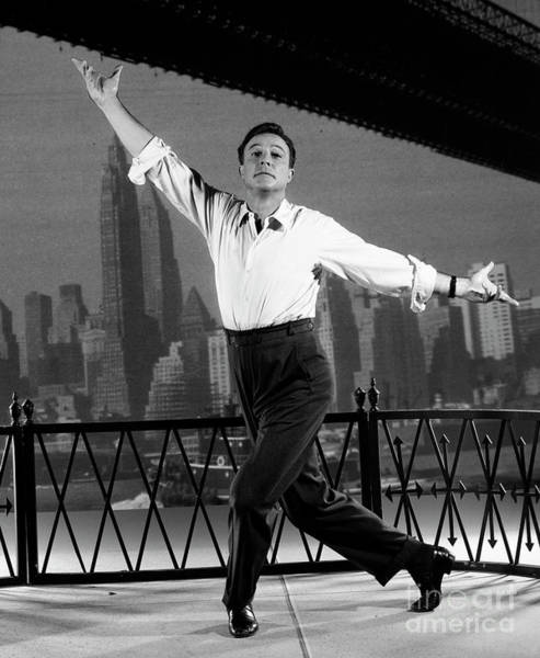 Wall Art - Photograph - Gene Kelly In New York, New York by Cbs Photo Archive
