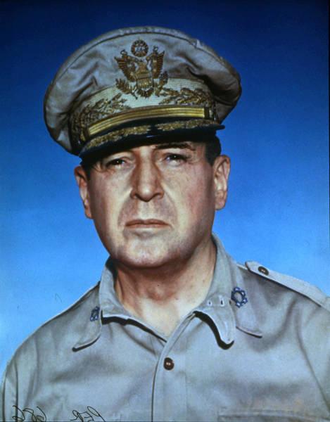 Uniform Photograph - General Douglas Macarthur by Photoquest
