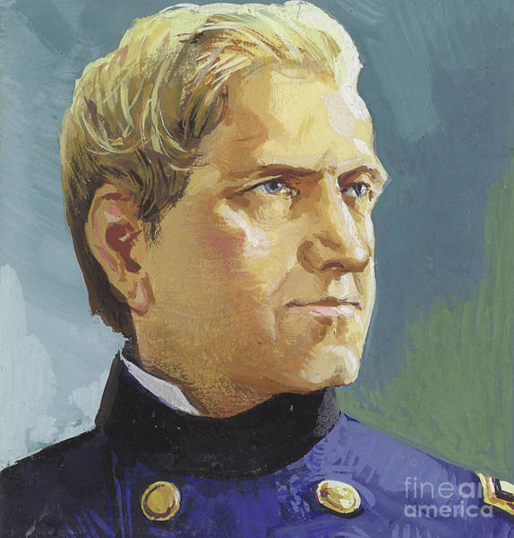 Wall Art - Painting - General Edward Canby by Severino Baraldi
