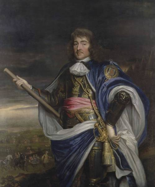 John Michael Wright Wall Art - Painting - General George Monck   St Duke Of Albermarle  by John Michael Wright