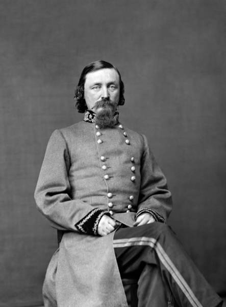 Wall Art - Photograph - General George Pickett Portrait  by War Is Hell Store