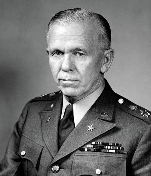 Wall Art - Photograph - General Of The Army, George C. Marshall 1939 - 1945 by U S Army
