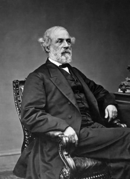 Wall Art - Photograph - General Robert E Lee Postbellum Portrait - 1869 by War Is Hell Store
