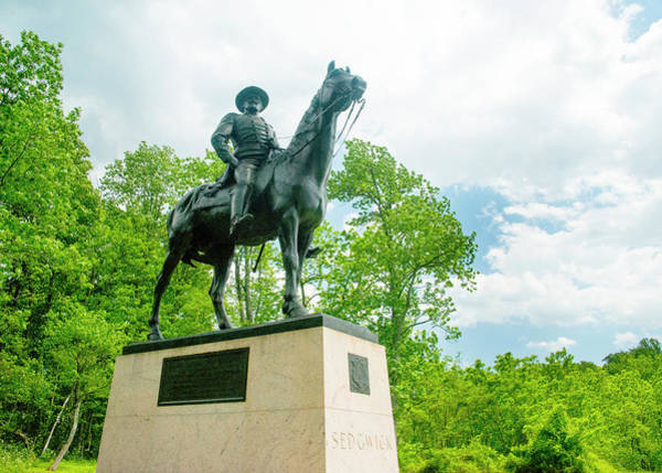 Photograph - General Sedgwick At Gettysburg by Paul W Faust - Impressions of Light