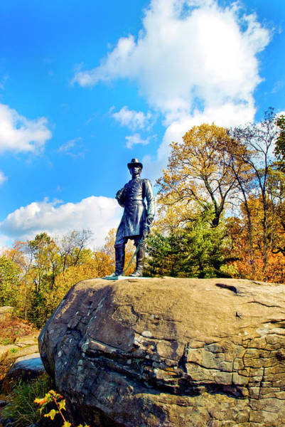 Photograph - General Warren Watching The Battle by Paul W Faust - Impressions of Light