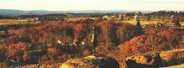 Battleground Photograph - General Warren's View Of Gettysburg  by Pixabay