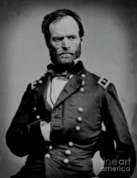 Photograph - General William Sherman - United States Secretary Of War  by Doc Braham