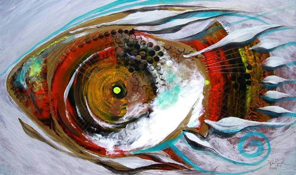 Painting - Generally Impeccable, E. Haberdashery W. Fish by J Vincent Scarpace