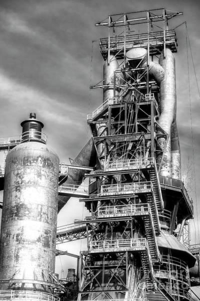 Photograph - Generations At Bethlehem Steel by John Rizzuto