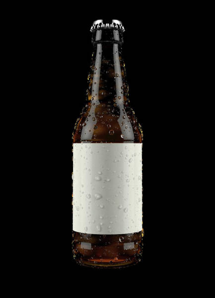 Wall Art - Digital Art - Generic Alcohol Bottled Product by Allan Swart