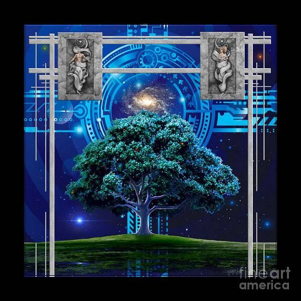 Realization Digital Art - Genesis by Monty Wright