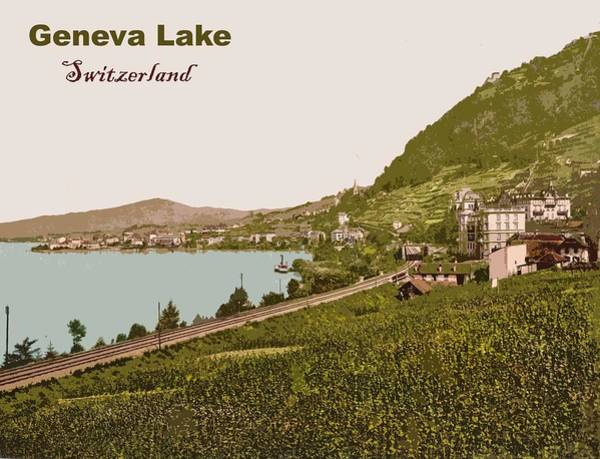 Lake Geneva Wall Art - Photograph - Geneva Lake by Long Shot