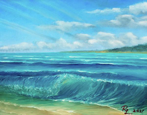 Painting - Gentle Breeze by Renee Logan
