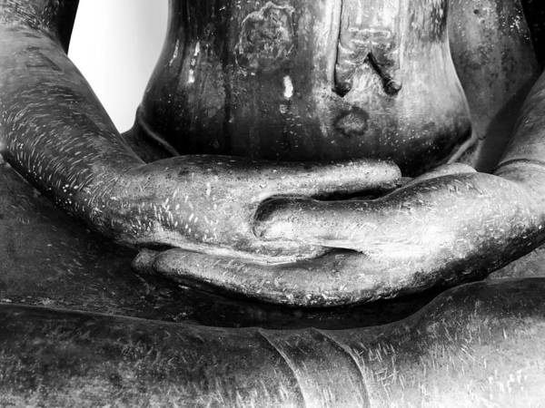 Photograph - Gentle Buddha Hands by Georgia Fowler