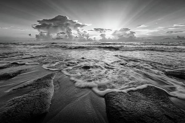 Photograph - Gentle Surf by Steve DaPonte