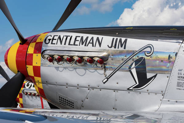 Photograph - Gentleman Jim On The Ramp by Chris Buff