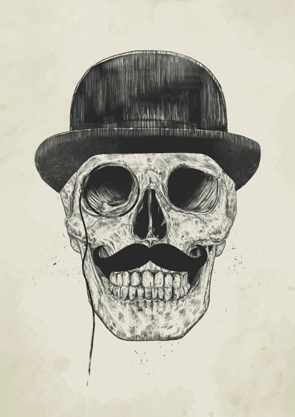 Hat Mixed Media - Gentlemen Never Die by Balazs Solti