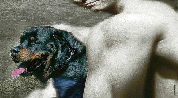 Digital Art - Gentle Beings  by Miss Pet Sitter