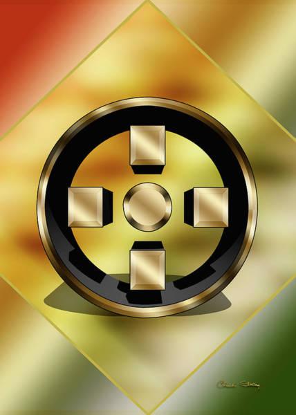Digital Art - Geo 11 3d by Chuck Staley
