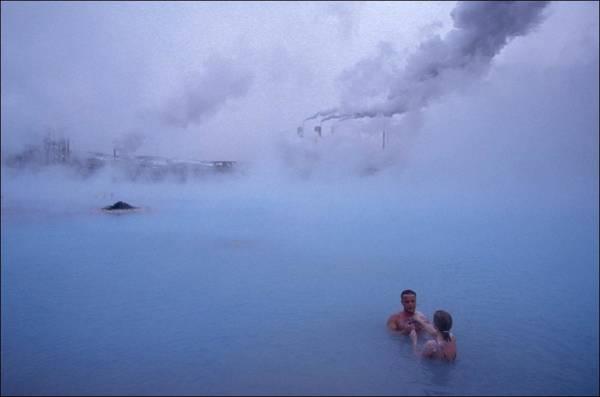 British Virgin Islands Photograph - Geo-thermal Power Station In Grindavik by Raphael Gaillarde