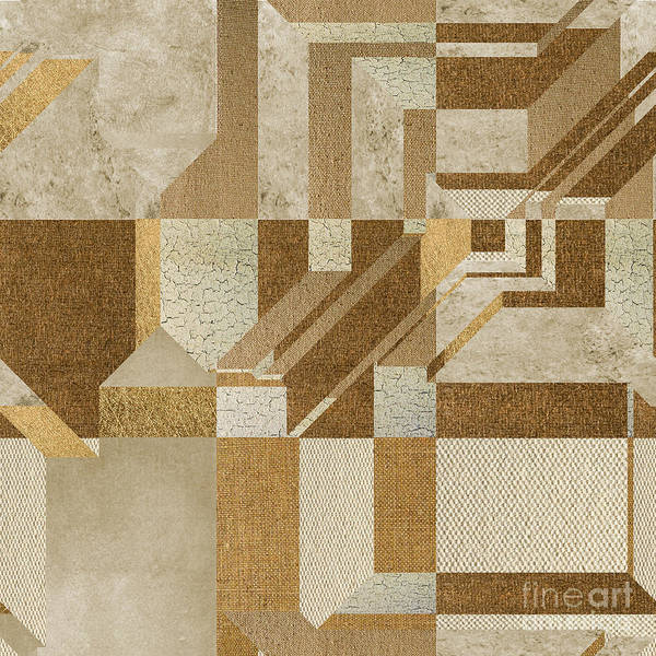 Wall Art - Digital Art - Geoart - S10ci3g by Variance Collections