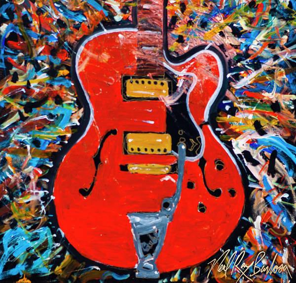 Painting - Geoffrey Mack Guild by Neal Barbosa