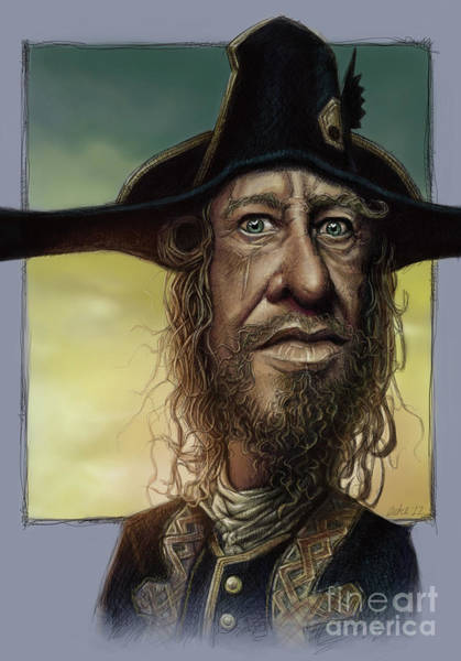 Geoffrey Rush Art Print