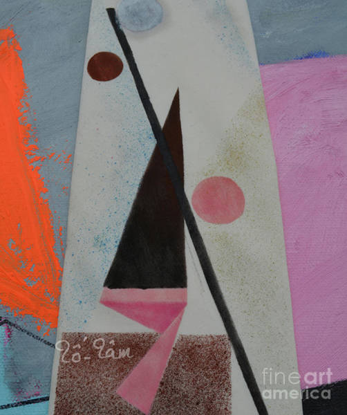Wall Art - Painting - Geomentry Abstract 24 by To-Tam Gerwe