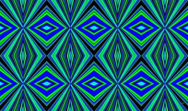 Digital Art - Geometric Harmony 2 by Will Borden