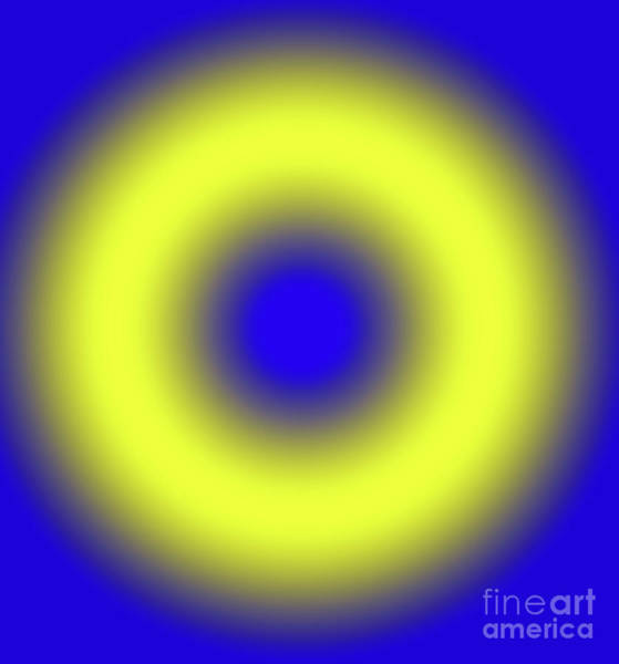 Fluid Digital Art - Geometric Lights, Number 4 by Alex Caminker