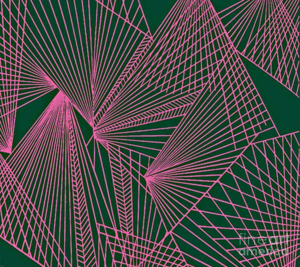 Painting - Geometric Pattern 3-colour-18 by Katerina Stamatelos