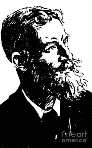 Wall Art - Drawing - George Bernard Shaw by Joseph Simpson