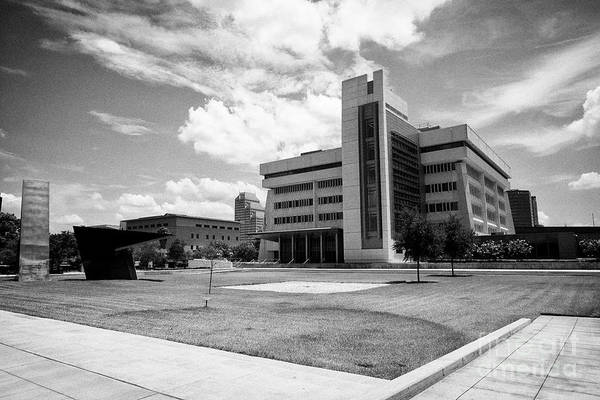 Wall Art - Photograph - George C. Young Federal Building And Courthouse Including Bankruptcy Court Orlando Florida Usa by Joe Fox