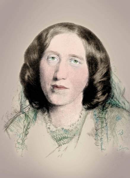 Photograph - George Eliot, English Author by Science Source