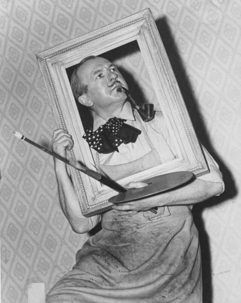 Goatee Photograph - George Grosz by Time Life Pictures