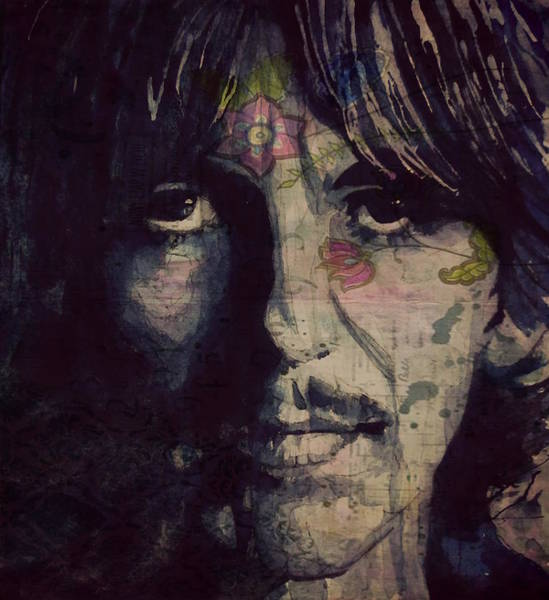 Wall Art - Mixed Media - George Harrison - If Not For You  by Paul Lovering