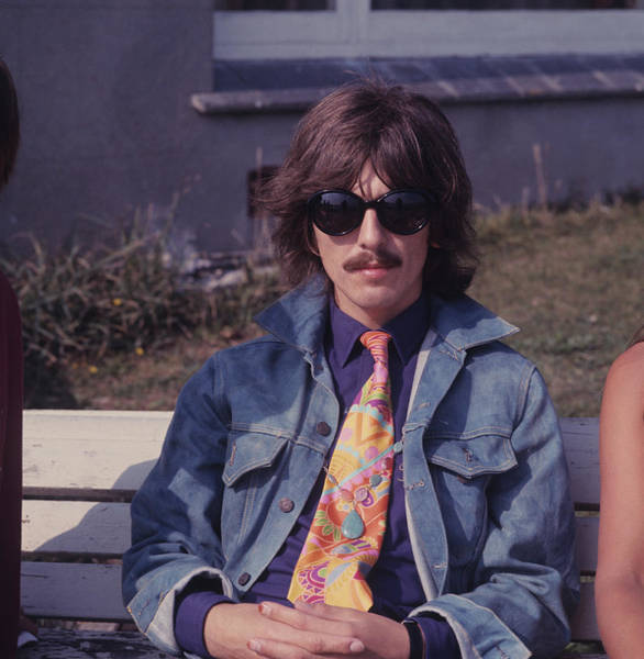 Wall Art - Photograph - George Harrison On The Magical Mystery by David Redfern