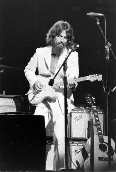 George Harrison Photograph - George Harrison Performing During The by Bill Ray