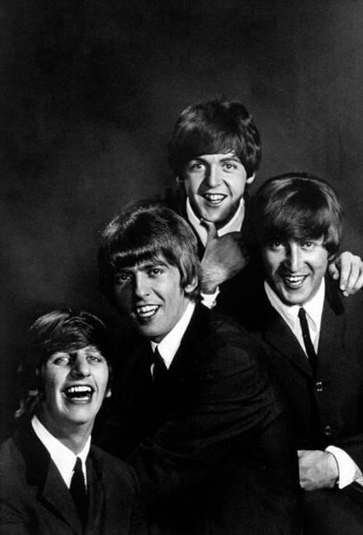 John Lennon Photograph - George Harrisonringo Starrjohn by John Dominis