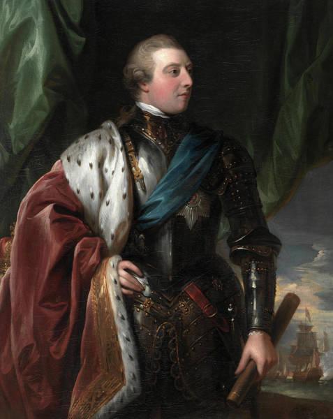 King George Wall Art - Painting - George IIi, 1783 by Benjamin West