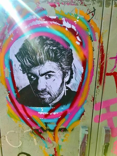 Wall Art - Photograph - George Michael by Funkpix Photo Hunter