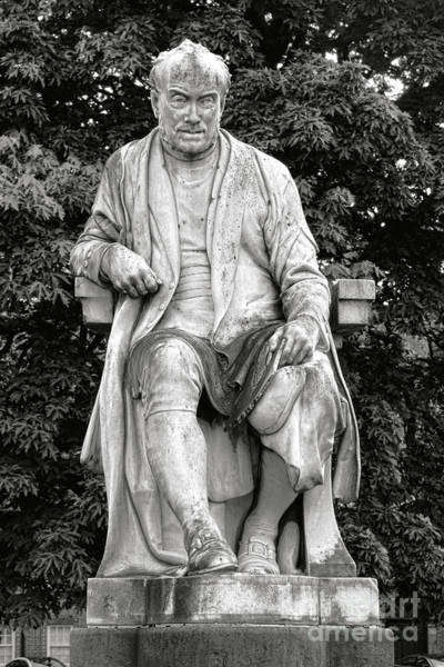 Wall Art - Photograph - George Salmon Statue At Dublin Trinity College by Olivier Le Queinec