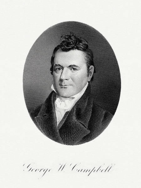 Matter Painting - George W. Campbell by The Bureau of Engraving and Printing