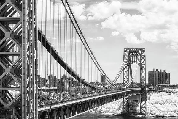Photograph - George Washington Bridge Gwb Nyc by Susan Candelario