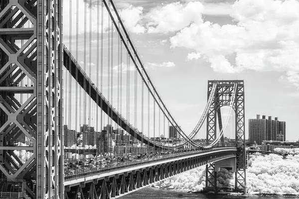 Photograph - George Washington Bridge Gwb Nyc by Susan Candelario