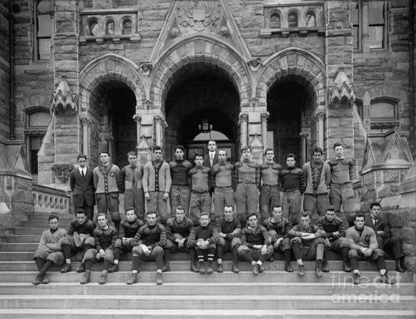 Wall Art - Photograph - Georgetown Football Team 1905 by Jon Neidert