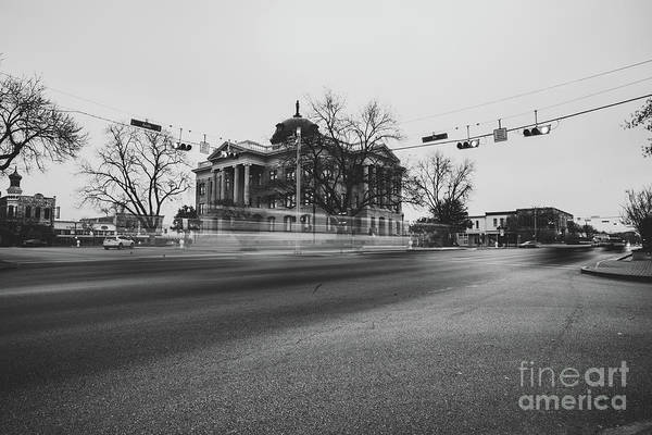 Photograph - Georgetown Texas Town During The Early Morning by PorqueNo Studios