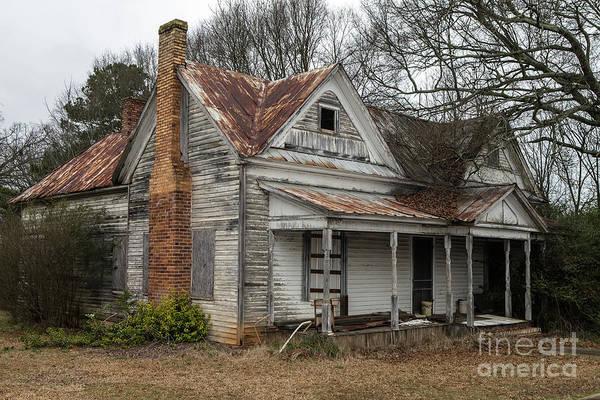 Wall Art - Photograph - Georgia Farmhouse  by Rick Mann